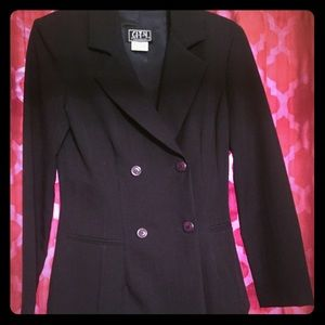 Business suit with mini